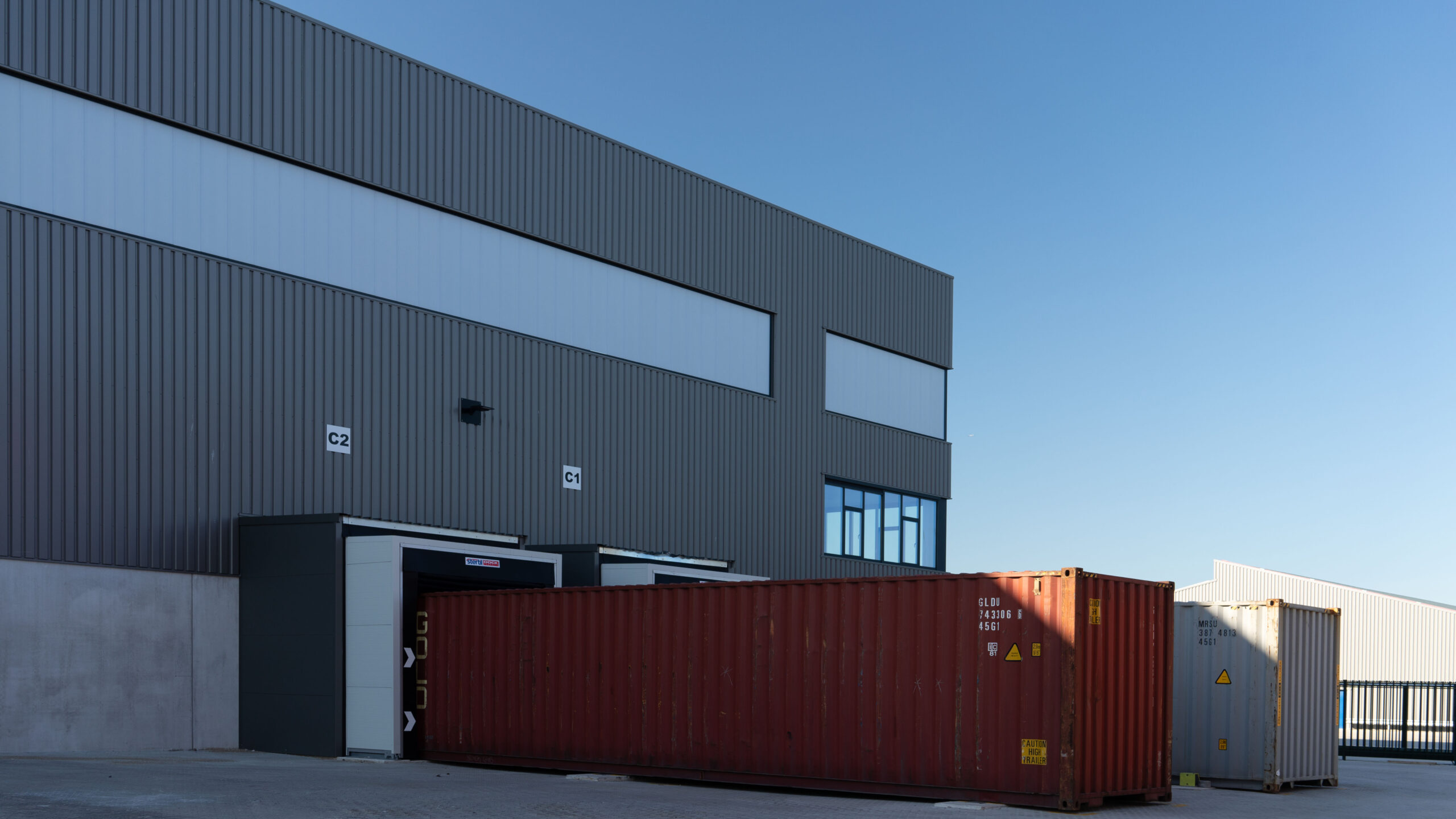 Containers snel laden/lossen